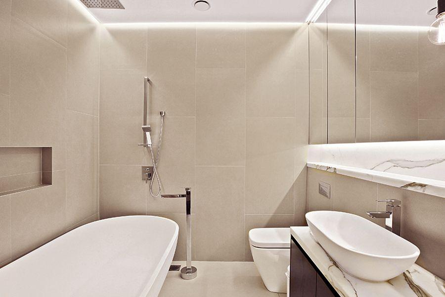 Sleek Bathroom Design A Modern And Sleek Bathroom In Birchgrove Nsw Featuring Our