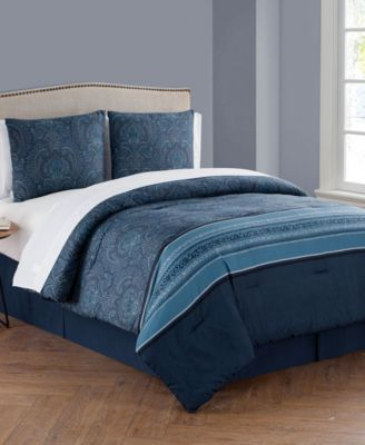 Marquesa Bag 8 Pc Queen Bed In A Bag Bedding Products In 2019