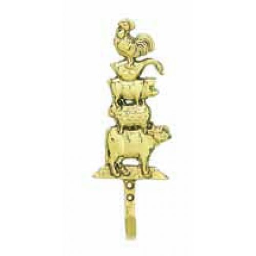 Farm Animals Decorative Wall Hooks | Decorative wall hooks ...