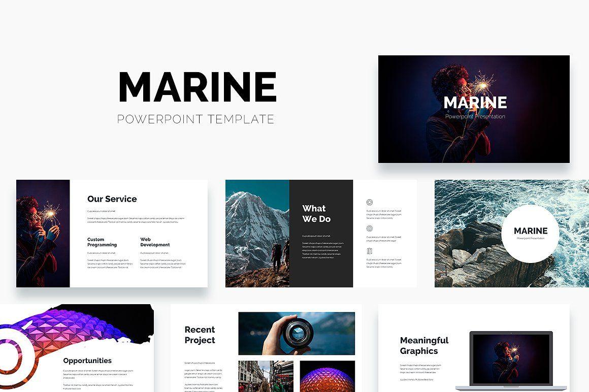 Marine Powerpoint Template Powerpoint Templates Powerpoint