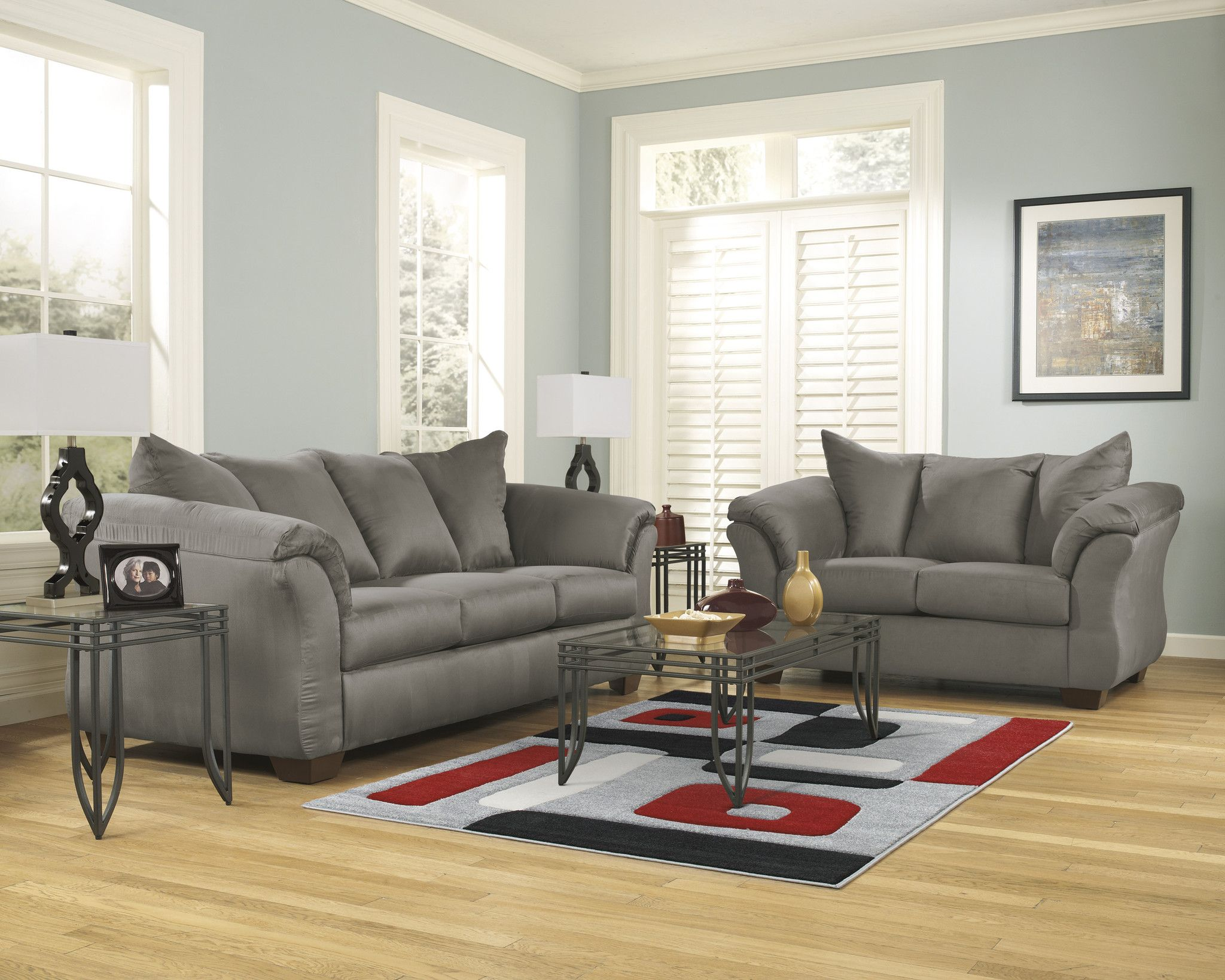 Get Your Darcy   Mocha   Sofa U0026 Loveseat At Sleep Shoppe And Furniture  Gallery, Hutchinson KS Furniture Store.