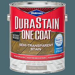 Wolman Durastain One Coat Semi Transparent Stain Is A One Coat Water Based Semi Transparent Stain Exterior Wood Stain Semi Transparent