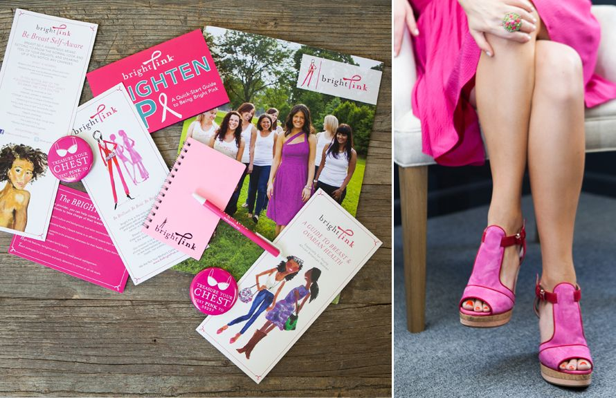 behind the scenes with Lindsay Avner, founder and CEO of Bright Pink, Photography by Jennifer Kathryn