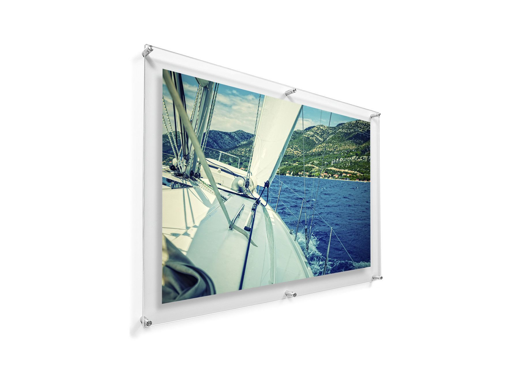 28 X 40 Double Panel Wall Frame For 24 X 36 Art Main Frames