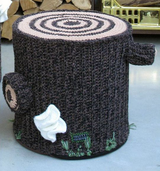 Bosque Seating In Crocheted Cotton Crochet Furniture Colourful