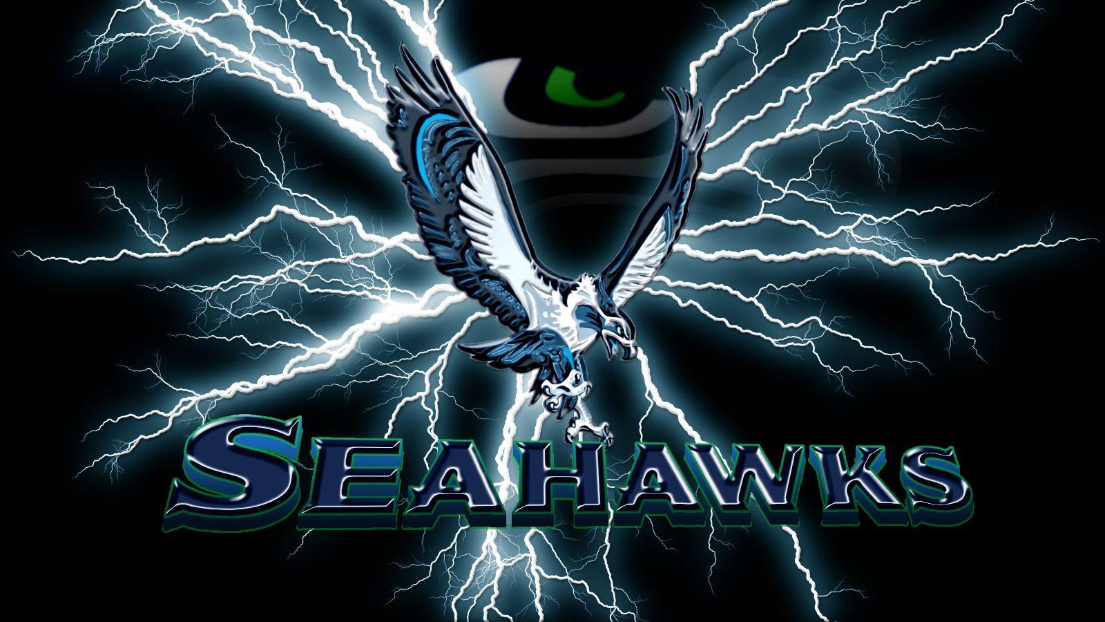 Seahawk Wallpaper Graphics and Web Design