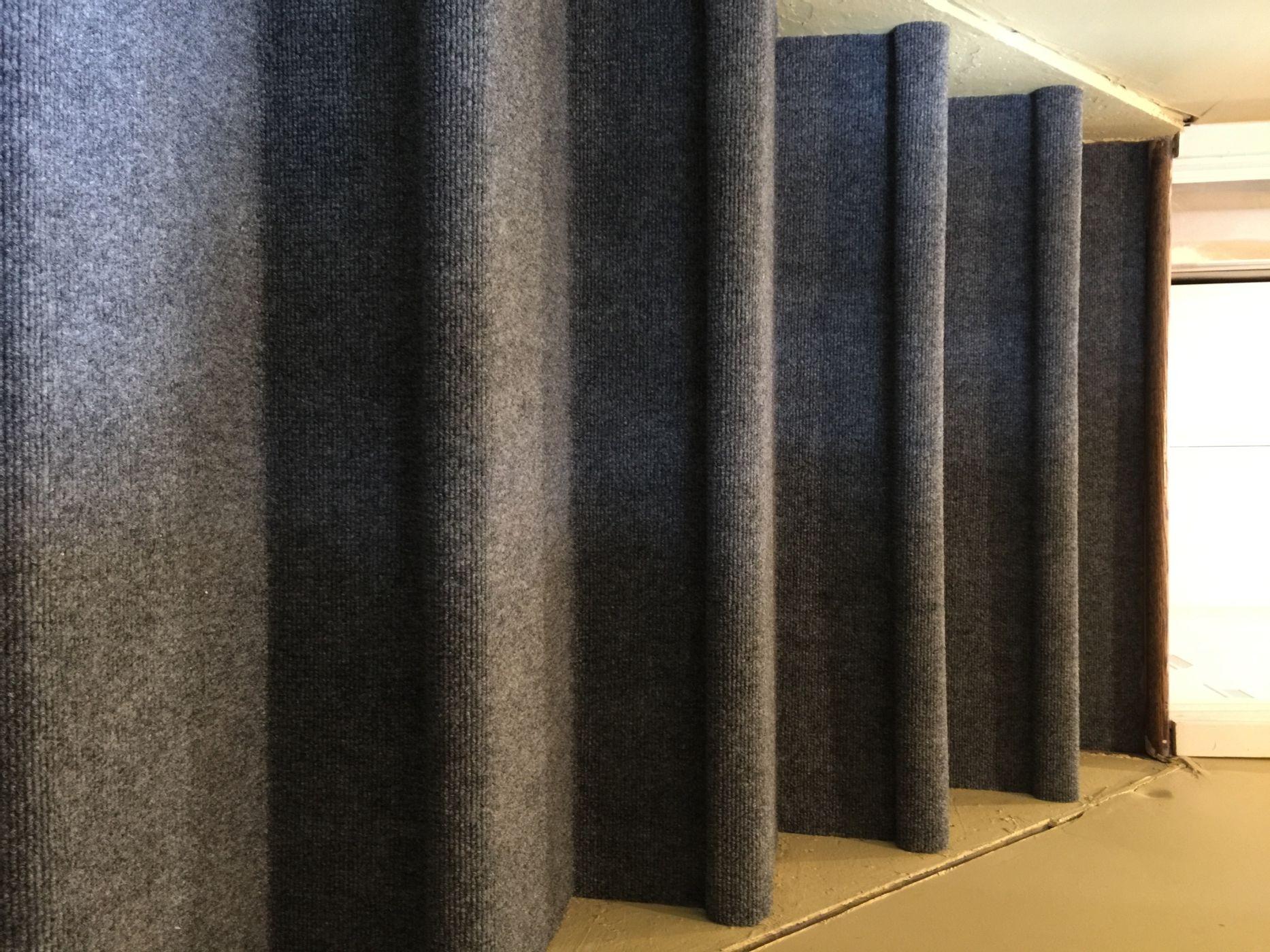 Attractive Indoor Outdoor Carpet Basement Stairs
