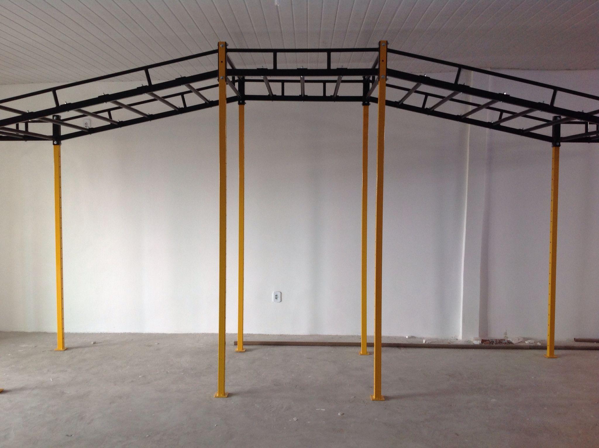 gaiola funcional metalfit fabricamos equipamentos para