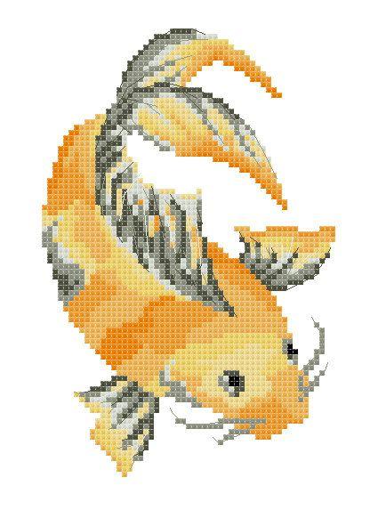 Photo of Ähnliche Artikel wie KIT – japanische Koi-Fische – Cross Stitch – alles was Sie brauchen! auf Etsy