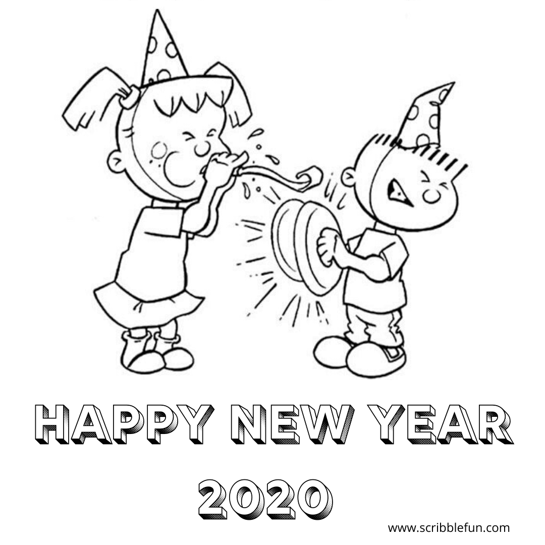 Charlie Brown New Year Coloring Page New Year Coloring Pages Coloring Pages Disney New Year