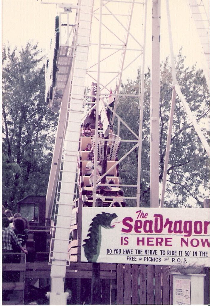 Old Indiana Beach The Seadragon One Of My Favorite Rides