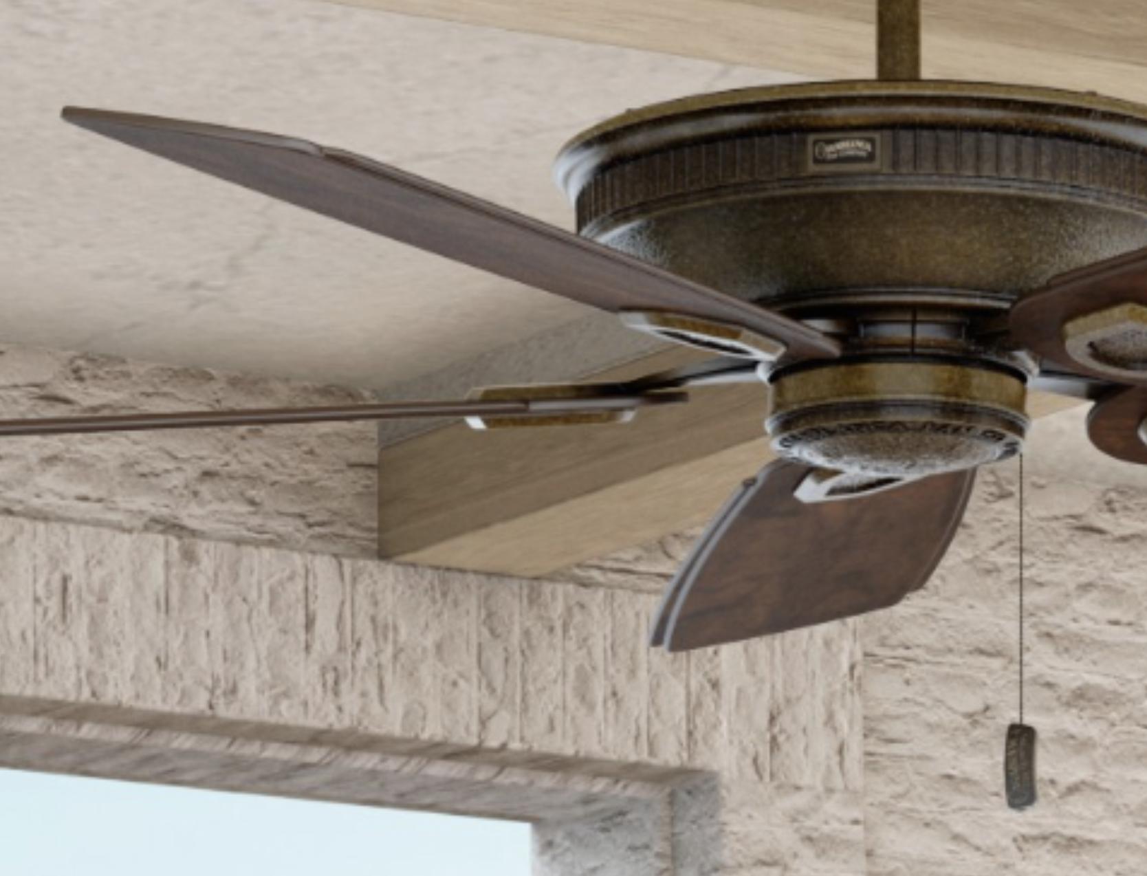 シーリングファンの撹拌効果で気流を活用してエアコンの設定温度を緩和