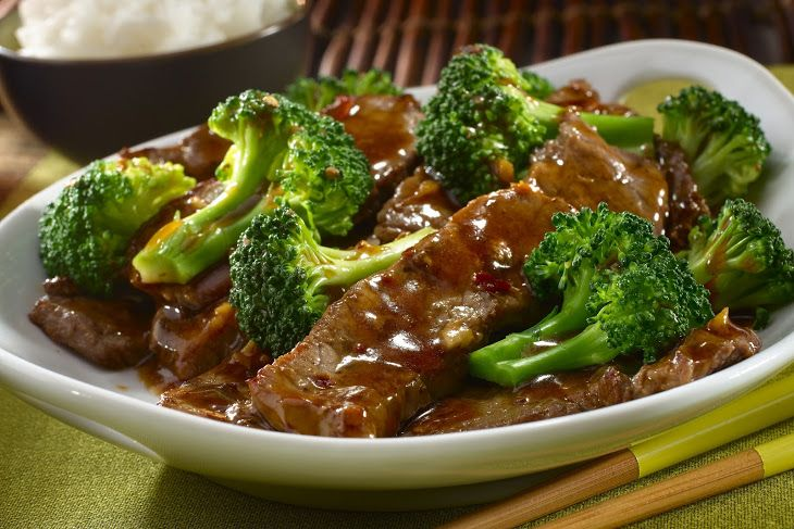 Ginger Beef Broccoli Recipe Yummly Recipe Broccoli Beef Ginger Beef Easy Beef And Broccoli