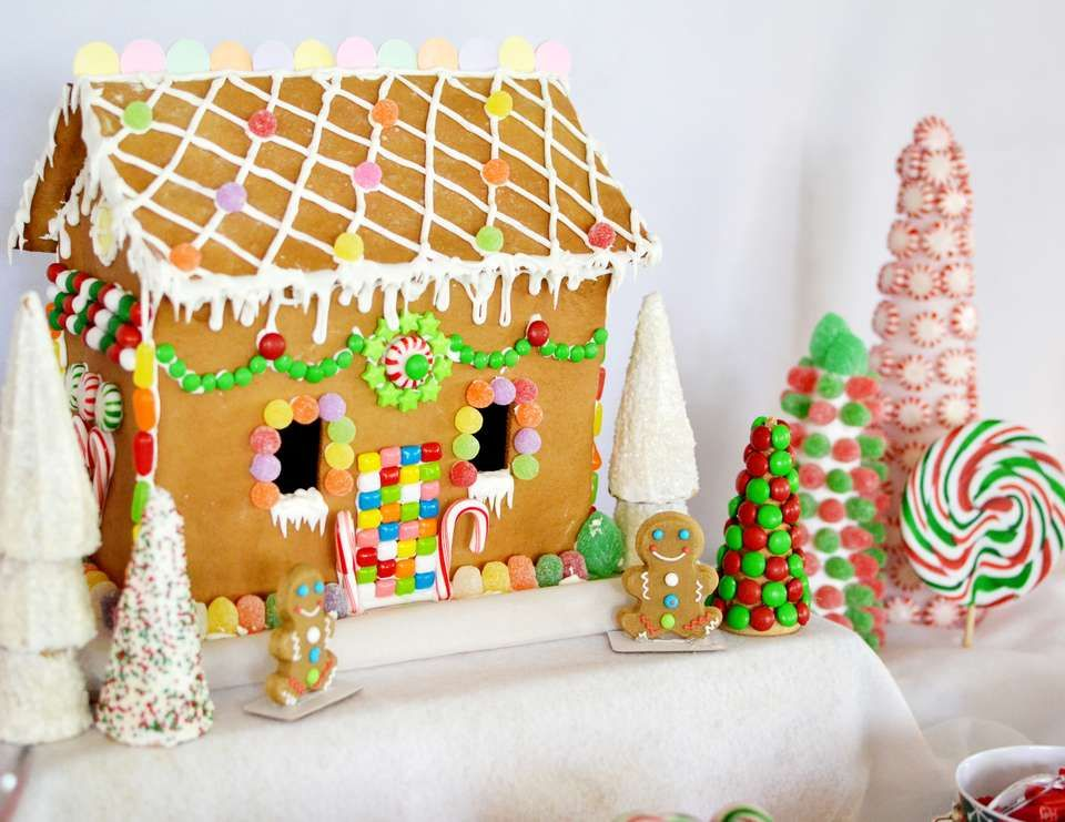 Candyland Christmas Holiday Candyland Gingerbread House Decorating Party Catch My Party Holiday Party Kids Kids Christmas Party Candyland Party