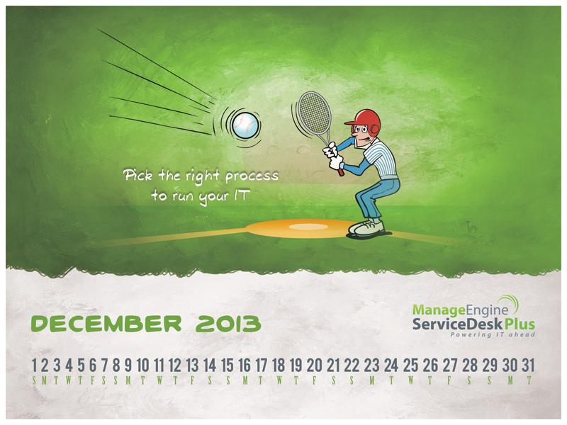 free itil calendar from manageengine servicedesk plus pins i love rh pinterest com