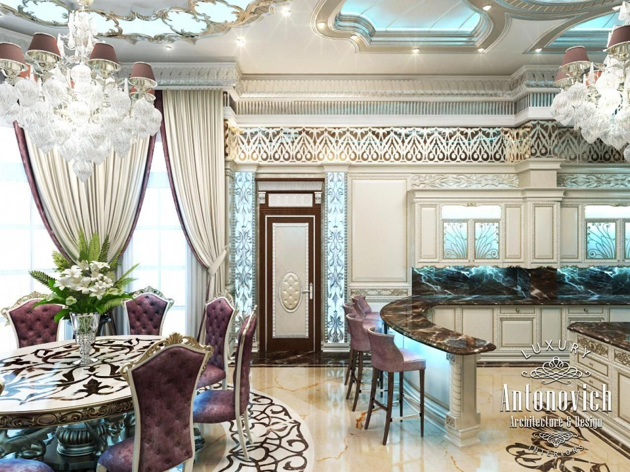 Kitchen design in dubai interior the uae photo interiordesigndubai also rh pinterest