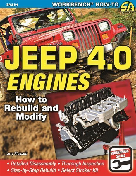Details About Jeep 4 0 How To Rebuild Modify Engines Book Shop