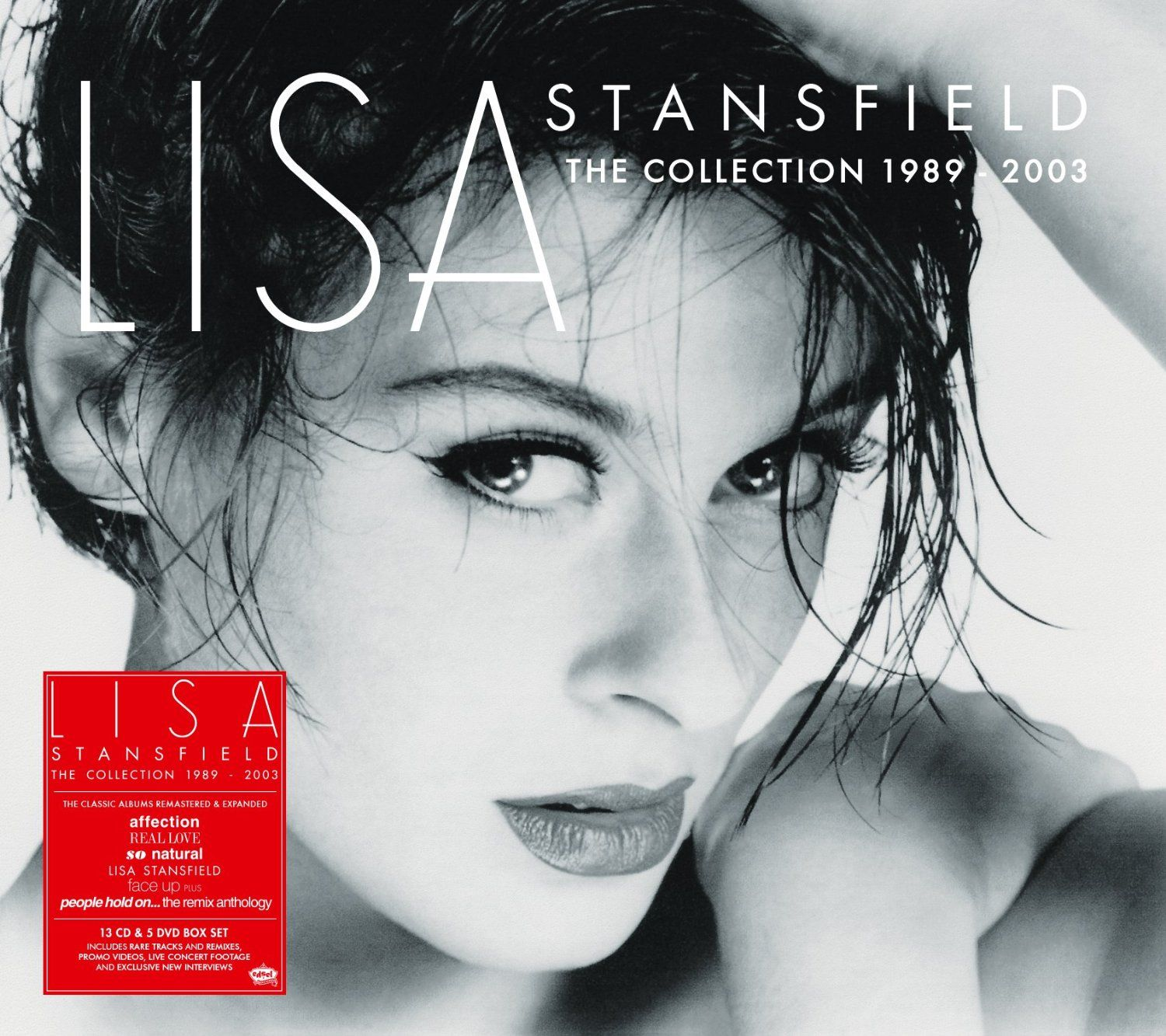 Lisa Stansfield The Collection 1989 2003 18 Disc Box Set Cd