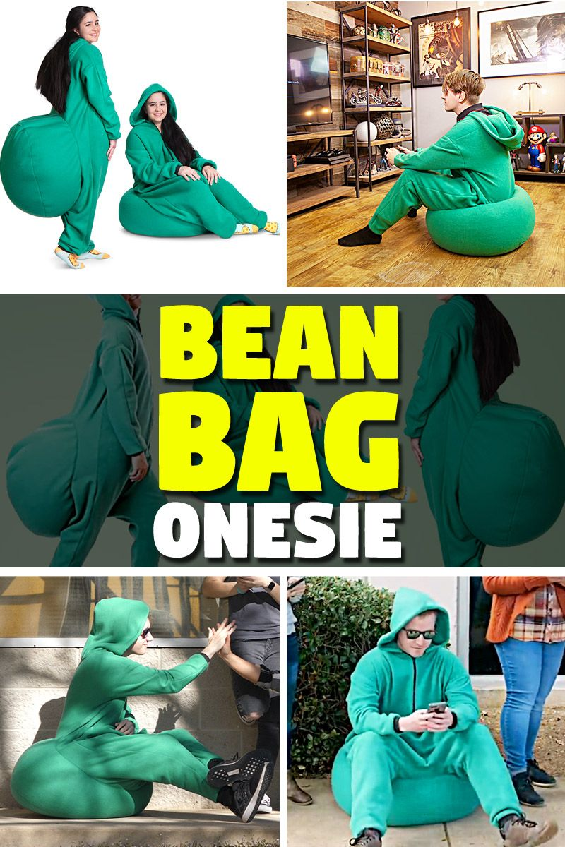 Brilliant With Bean Bag Onesie You Can Sit Almost Anywhere Bean Bag Ibusinesslaw Wood Chair Design Ideas Ibusinesslaworg
