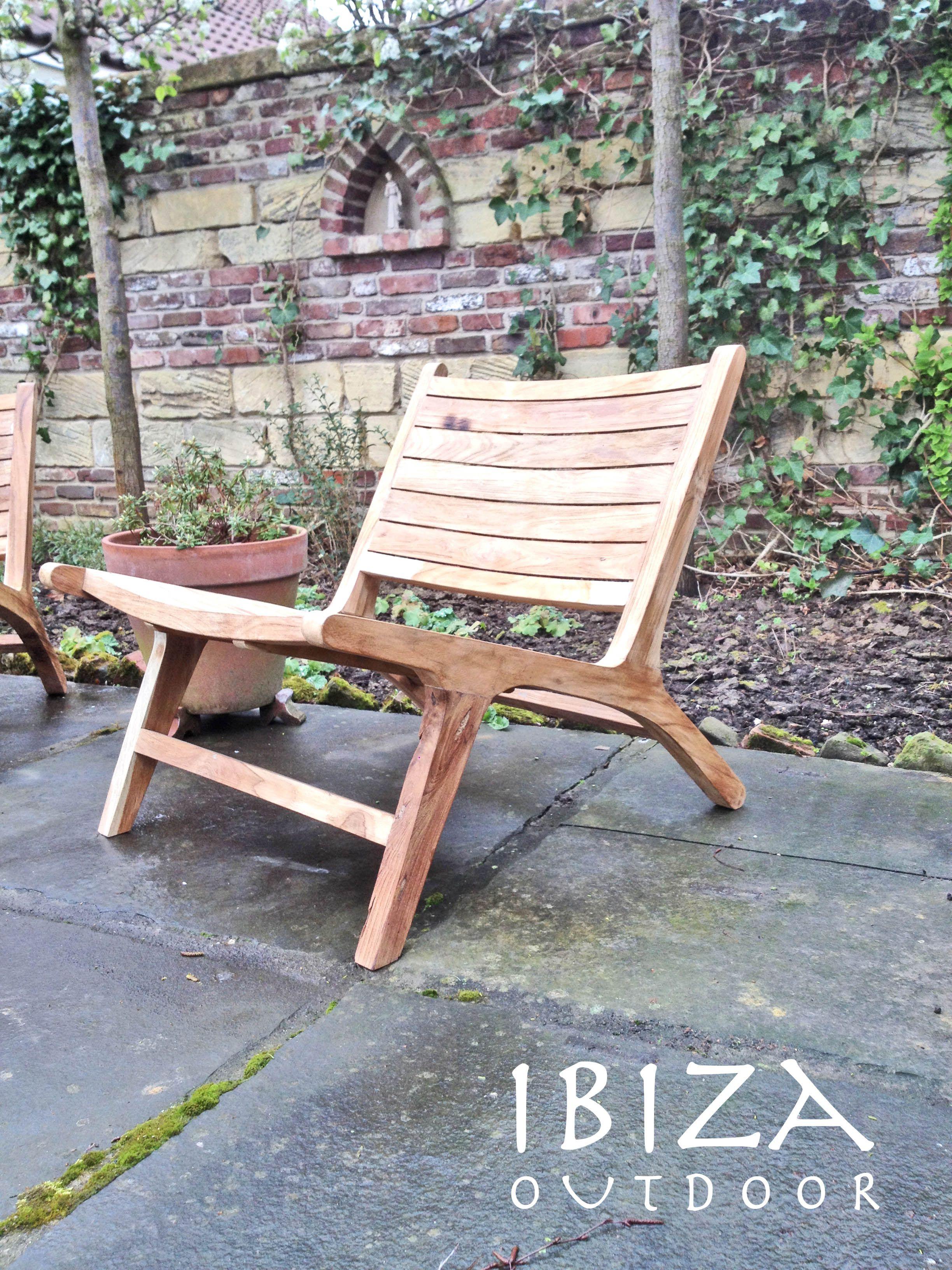 Leuke foto ontvangen uit doenrade met onze teak houten for Leuke stoel voor slaapkamer