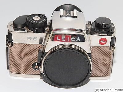 Leitz: Leica R6 Platinum '150 Years' camera