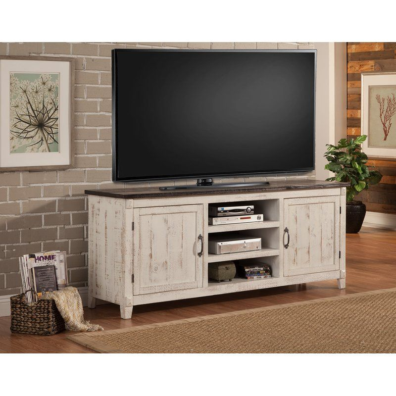 Cedarburg Solid Wood Tv Stand For Tvs Up To 85 Solid Wood Tv Stand Tv Stand Decor Home Living Room