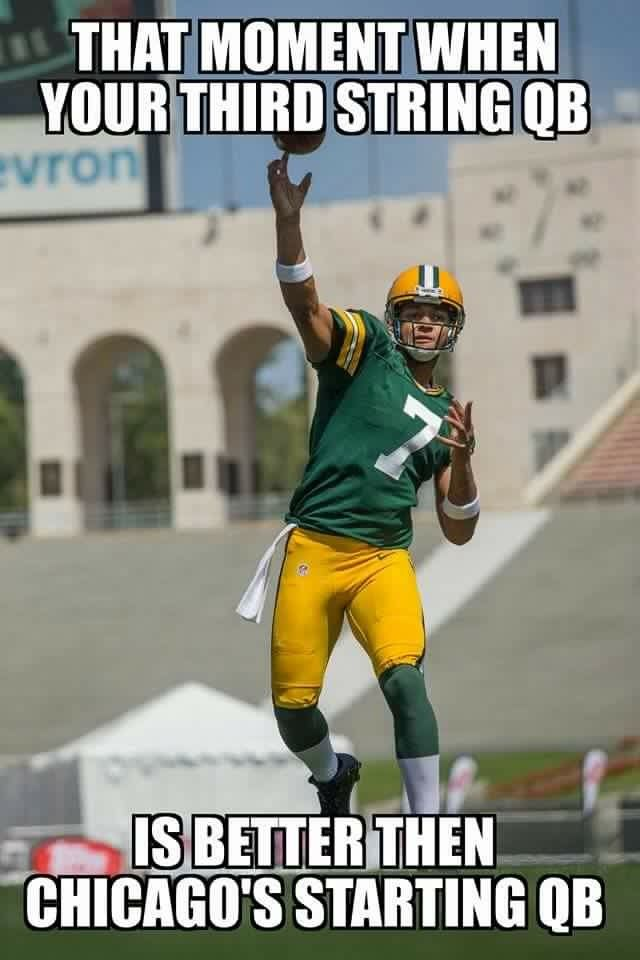 Every Player On The Packers Is Better Than Any Player Of