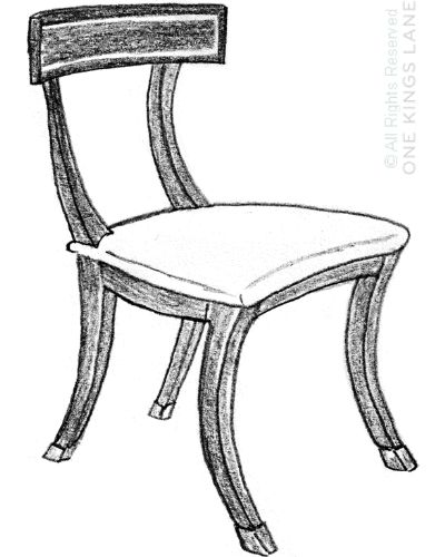 The klismos chair paved the way for the modern chair