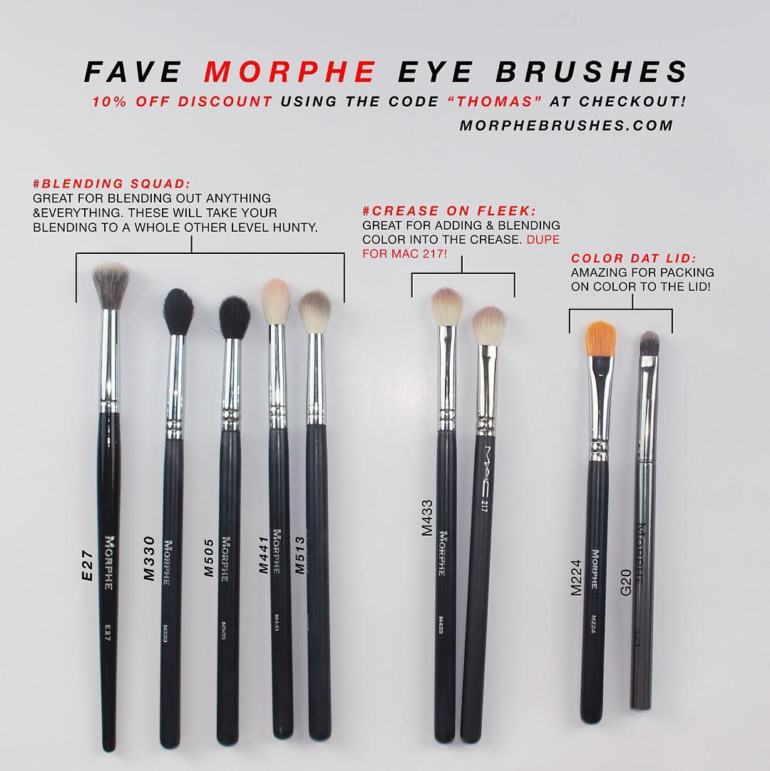 Coupons for morphe brushes