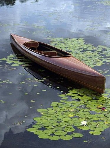Rob Roy Style Canoe Beautifully Constructed With Plum Ends