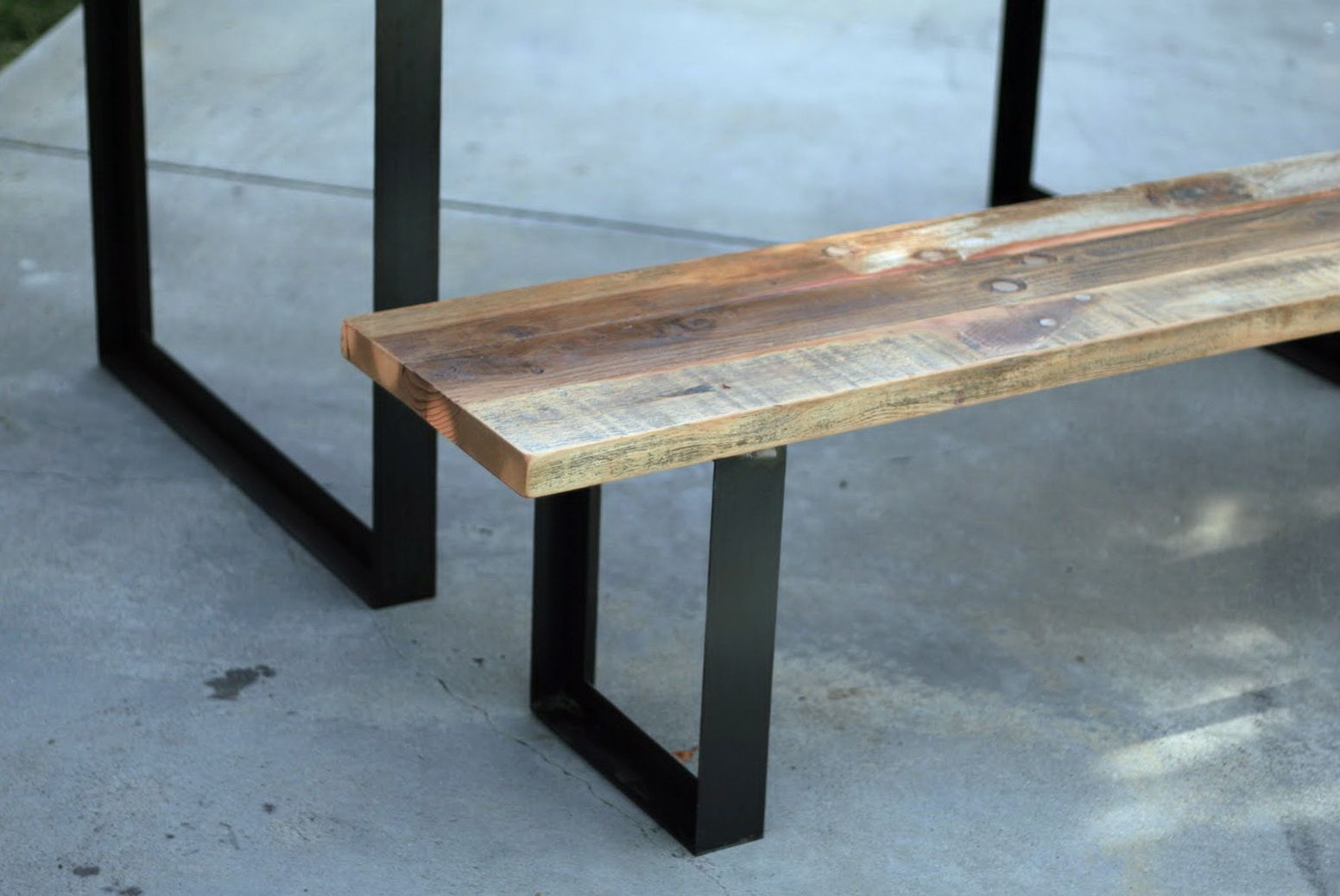 Image result for metal bench supports