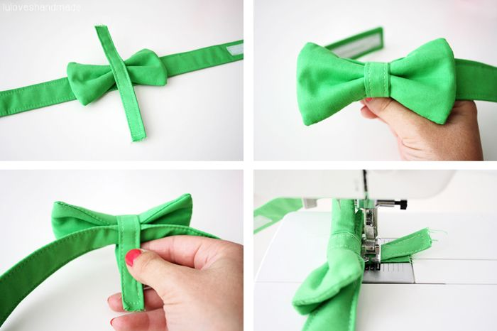 DIY: Doggie Bow Tie - Luloveshandmade