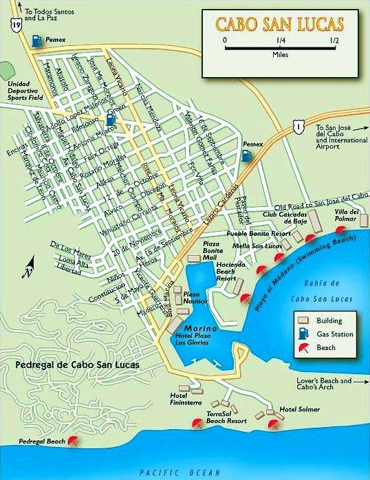 Maps Of Cabo San Lucas Hotels : lucas, hotels, Lucas, Sportfishing, Guide,, Cabos, Lucas,, Mexico