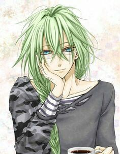 Anime Guy With Green Hair Amnesia Anime Anime Amnesia Ukyo