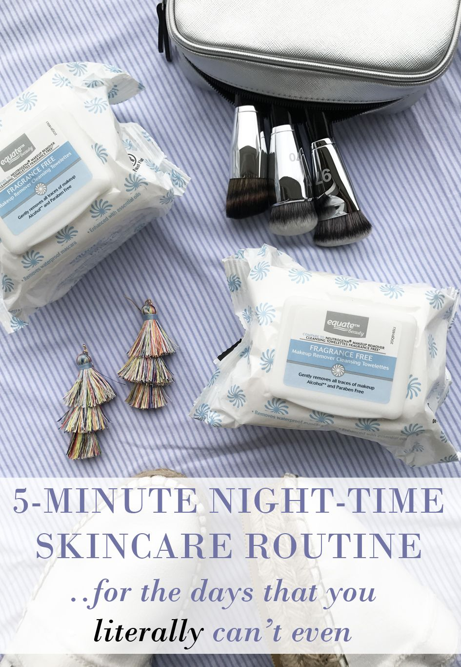 5Minute Nighttime Skincare Routine (for when you