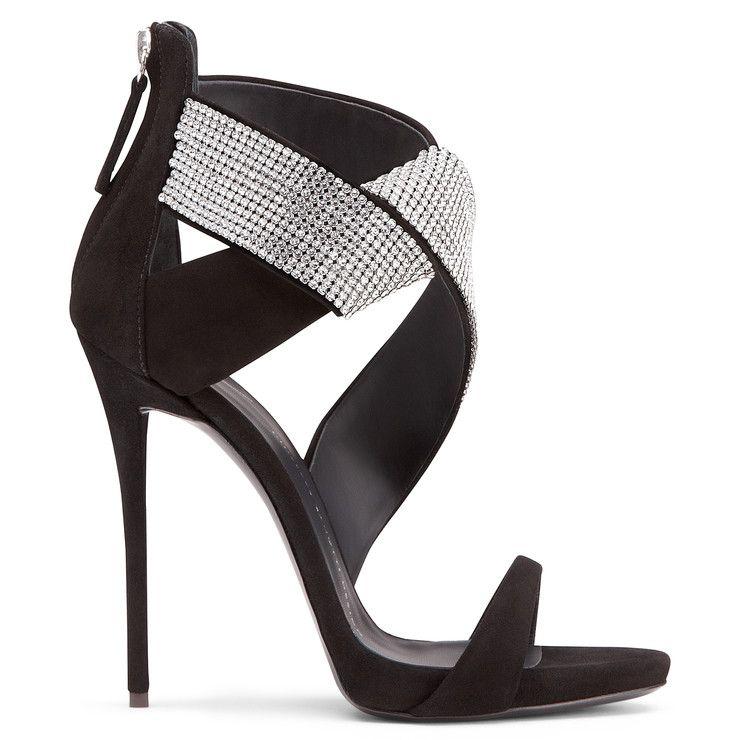 ELLA - BLACK - Sandals | Giuseppe Zanotti | Pinterest | Black ...