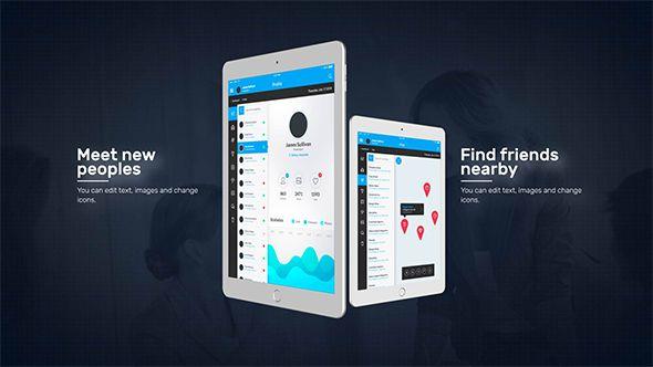 tablet presentation pack | icons, Presentation templates