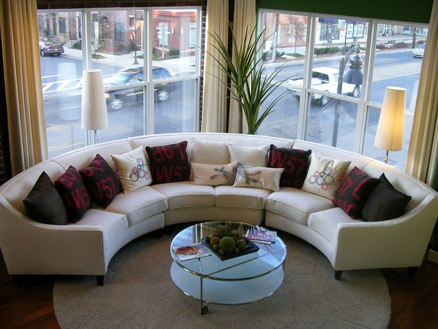 Curved Couch Calder Model Sectional Sofas Living Room Living Room Modern Small Living Rooms