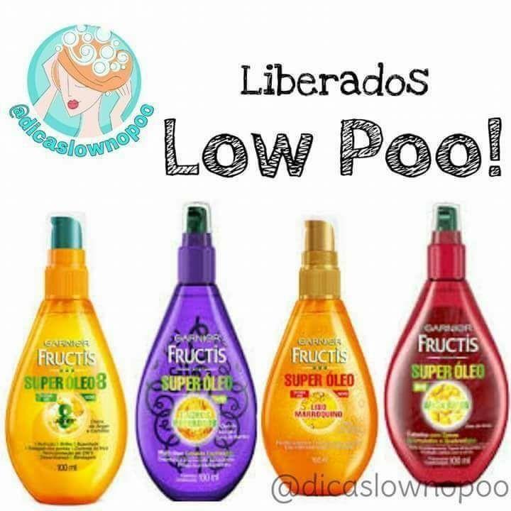 Oleos Liberados Para Low Poo Produtos De Cabelo Creme De Cabelo