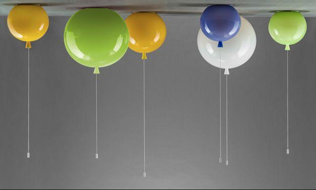 Luftballons gehören in jedes Zimmer! Luftballon lampe