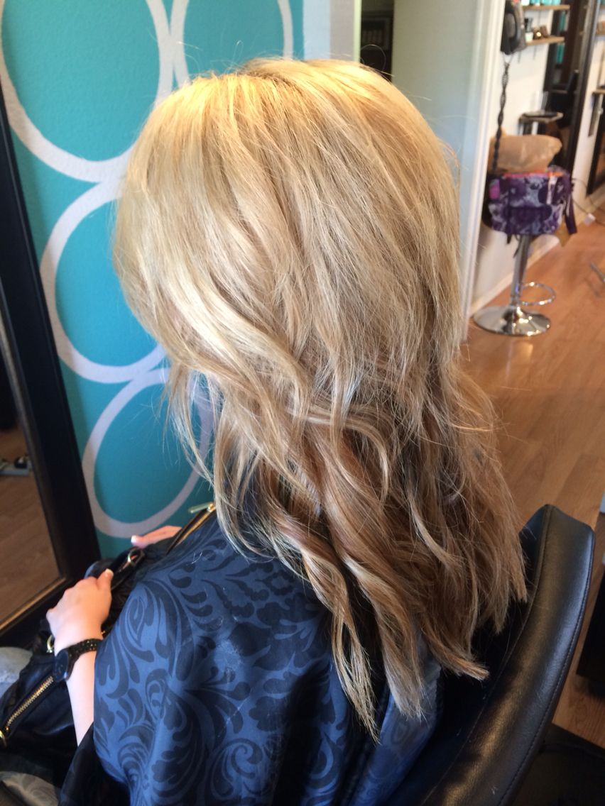 32++ Medium length blonde hair with brown underneath ideas