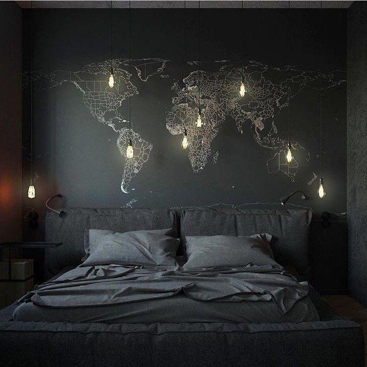 Bathroom Interior Designideas: 100 Scandinavian Bedroom / Home Design Ideas #darkbedroom