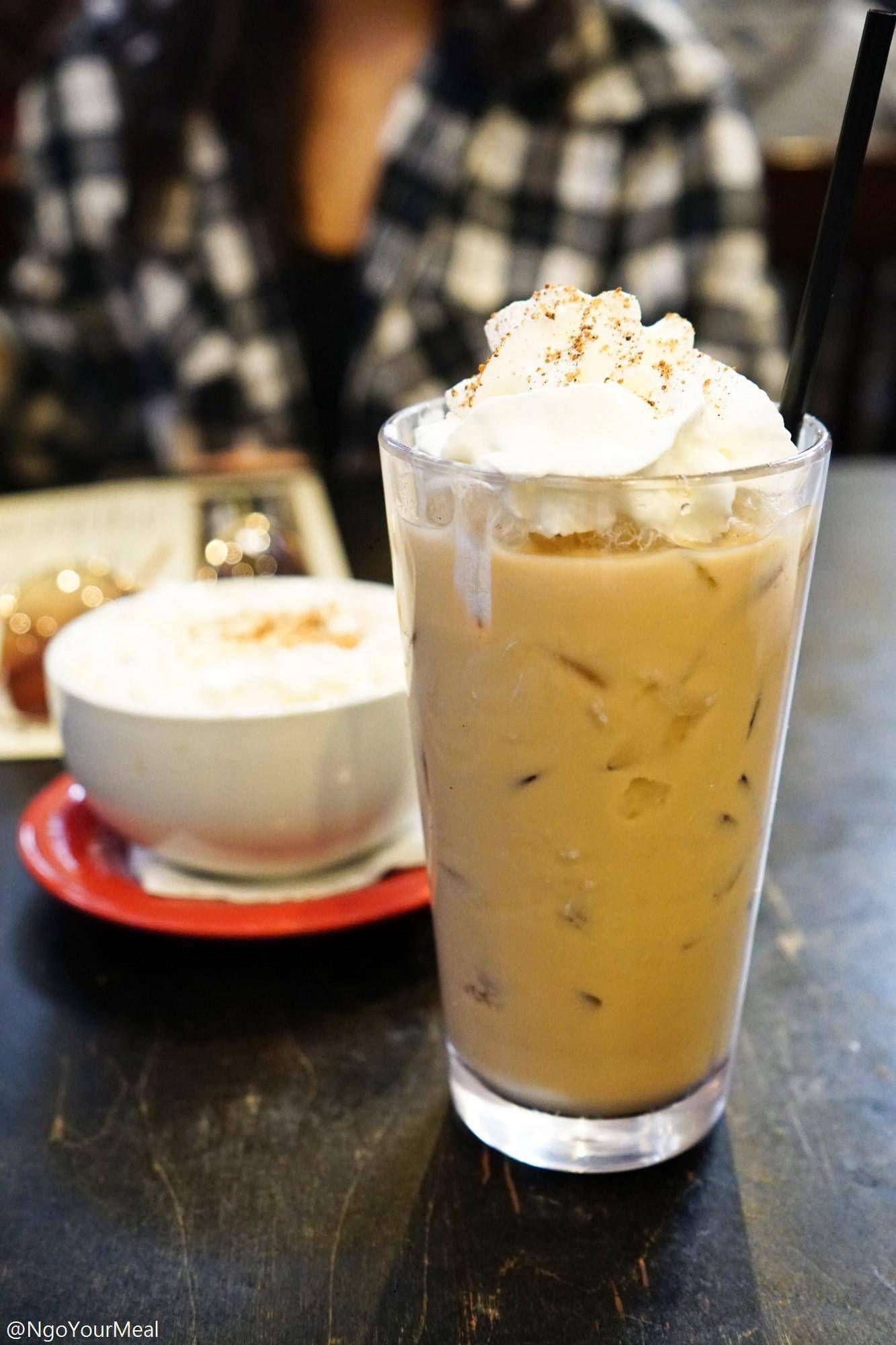 Creamy Vanilla Iced Coffee French Tuck Cold Brew