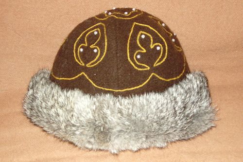 04e6cf32 Finished medieval Rus hat side view | Viking, norse | Viking ...