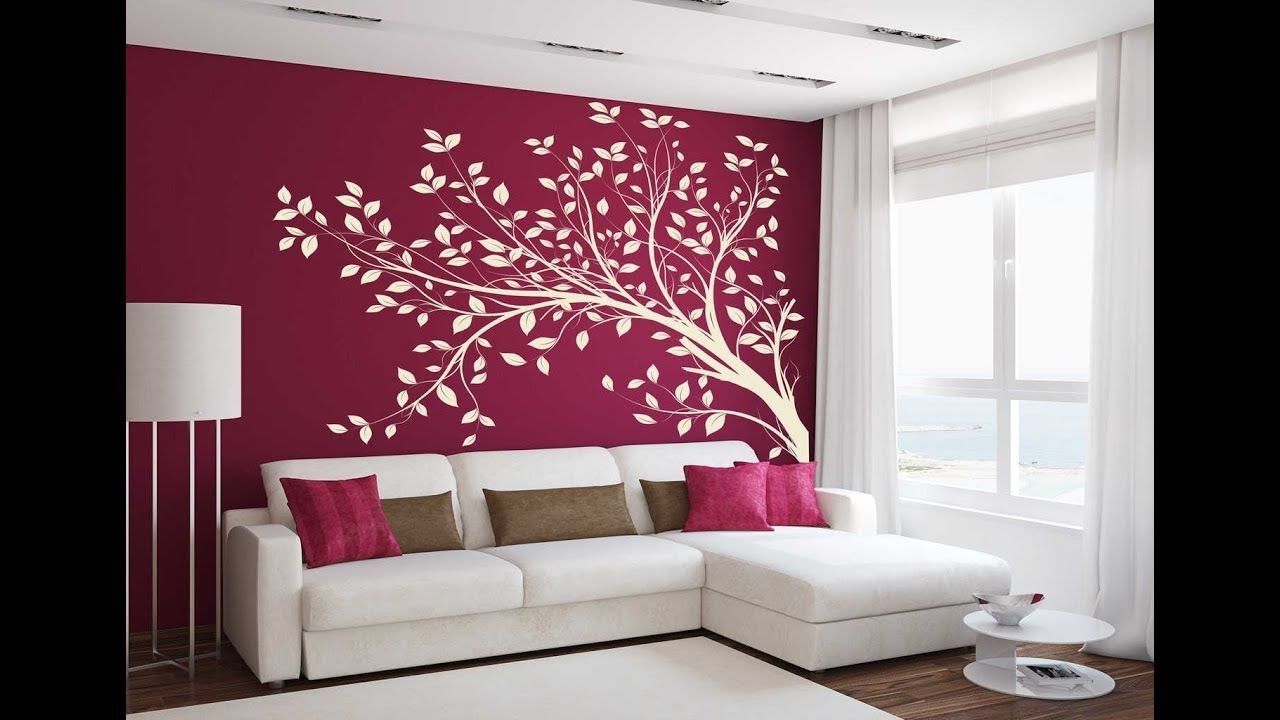 Wallpaper Design For Living Room Home Decoration Ideas 2018