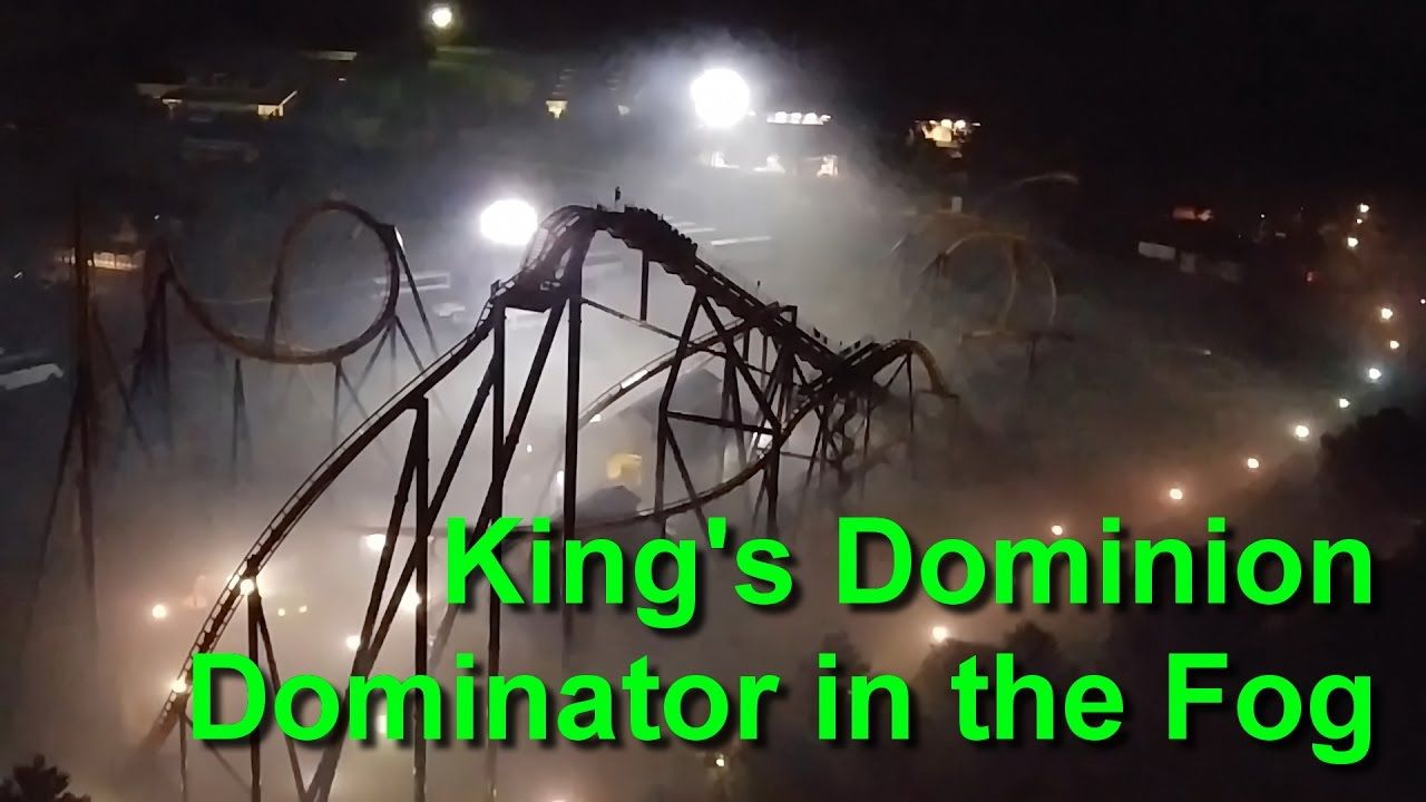 Dominator In The Fog King S Dominion Halloween Haunt 2016 Halloween Haunt Dominion Fog