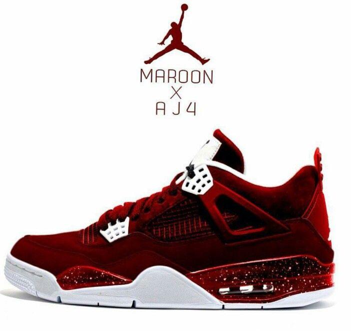 brand new 5c2e8 185bf Maroon AJ4 | Jordans | Shoes, Shoes sneakers, Sneakers