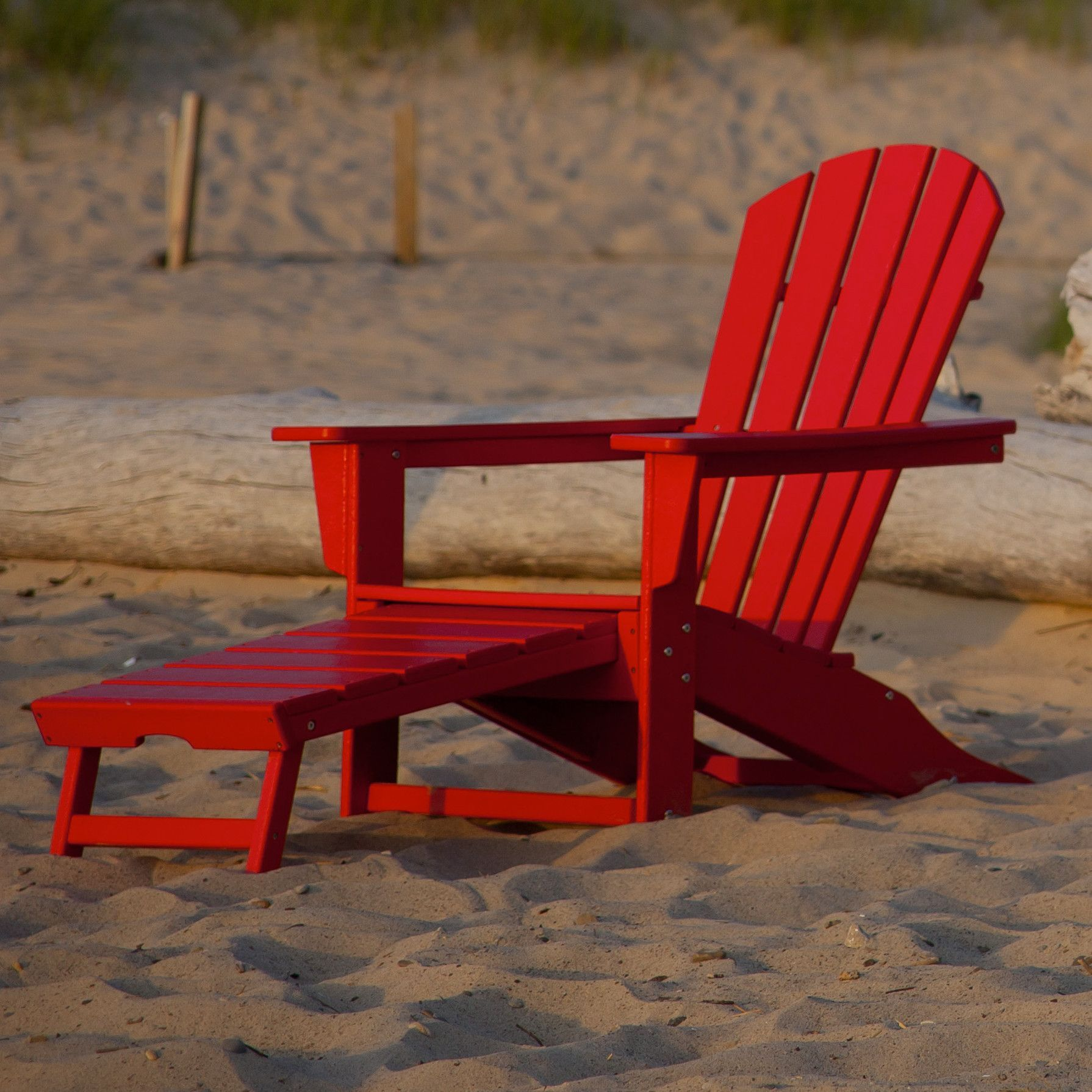 Palm Coast Plastic Adirondack Chair With Ottoman Plastic Adirondack Chairs Polywood Outdoor Furniture Adirondack Chair Plastic adirondack chairs with ottoman