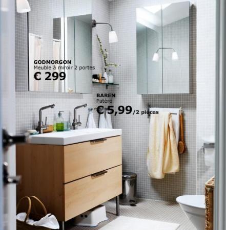 ikea meuble miroir salle de bain