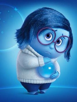 Sadness From P I X A R S Inside Out 2015 Sadness Inside Out Inside Out Emotions Inside Out